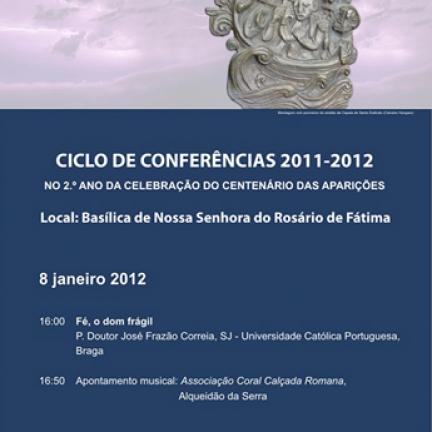 8 de enero de 2012: Nueva conferencia temática