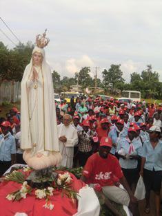 Imagen Peregrina regresa de S. Tomé y Príncipe el 5 de junio
