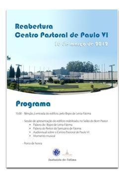 10 de marzo: Centro Pastoral Paulo VI reabre puertas después de obras de revalorización