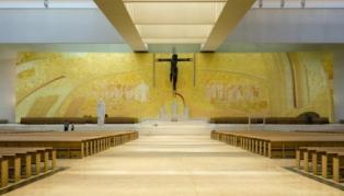 26 de agosto – Obispo de Leiria Fátima preside la misa solemne de acción de gracias por la atribución del título de Basílica a la Iglesia de la Santísima Trinidad