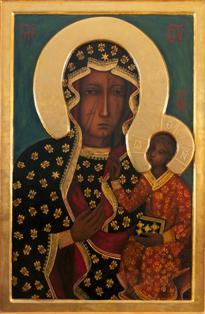 """Peregrinación """"De océano a océano"""" - Icono de Nuestra Señora de Czestochowa peregrina por Portugal"""