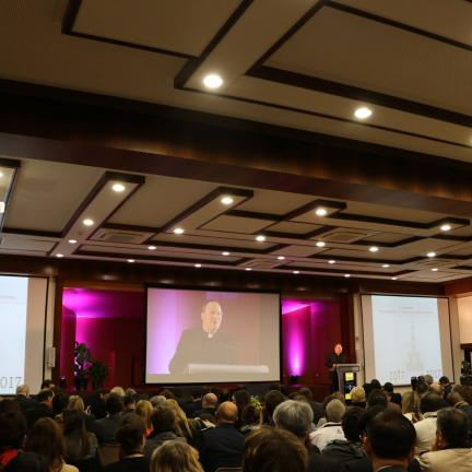 Fatima Shrine's Rector presented the program of the Centennial of the Apparitions at the IV International Workshop on Religious Tourism