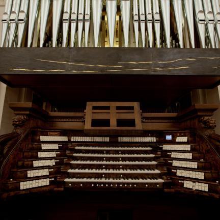 Inauguracja organów w bazylice Matki Boskiej Różańcowej w Fatimie