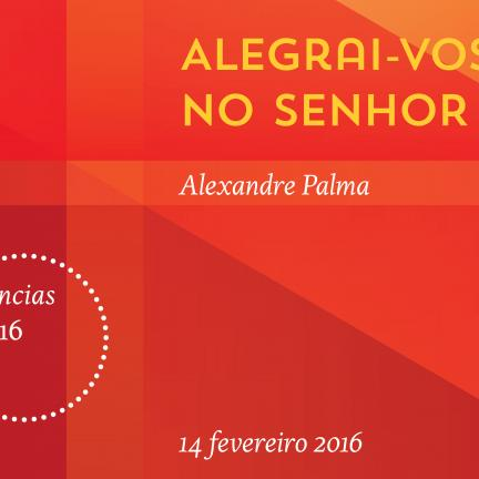 Alexandre Palma, speaker at the third conference of the cycle of conferences 2015/2016