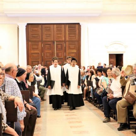 Basílica de Nossa Senhora do Rosário de Fátima acolheu concerto de Páscoa