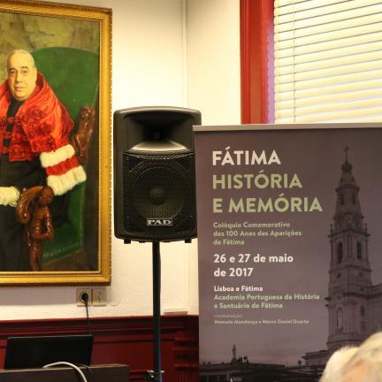 """""""Fátima, História e Memória - Colóquio comemorativo dos 100 anos das Aparições de Fátima"""", começou hoje na Academia Portuguesa de História"""