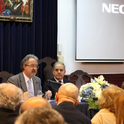O colóquio comemorativo dos 100 anos das aparições de Fátima prosseguiu esta tarde na Academia Portuguesa de História