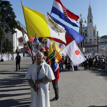 Italianos mantêm-se como segundo grupo organizado mais numeroso de peregrinos estrangeiros em Fátima