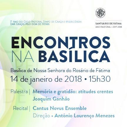 """El Santuario de Fátima acoge la primera conferencia de los """"Encuentros en la Basílica"""""""