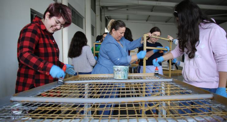 Jovens voluntários vão melhorar condições de acolhimento aos peregrinos