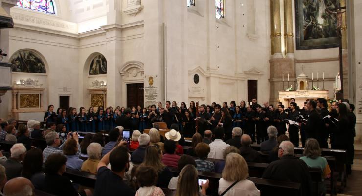 Ensemble Vocal Pro Musica foi protagonista do Concerto de Páscoa promovido pelo Santuário de Fátima