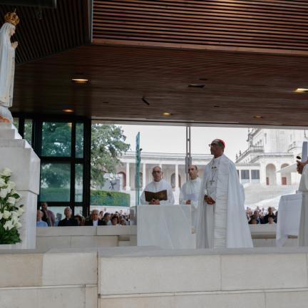 D. António Marto pede intercessão da Virgem do Rosário pelo dom da Paz para a Venezuela e Nicarágua