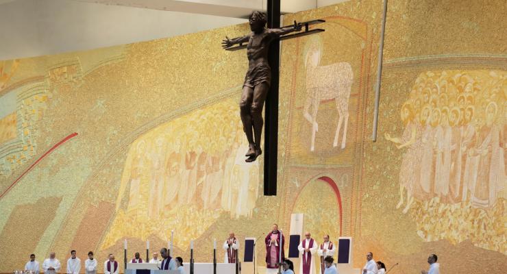 """Reitor do Santuário pediu aos peregrinos para não terem """"vergonha"""" do presépio"""