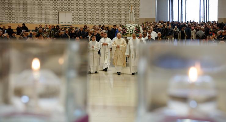 Reitor do Santuário de Fátima lembrou 50.º aniversário da ordenação presbiteral do Santo Padre