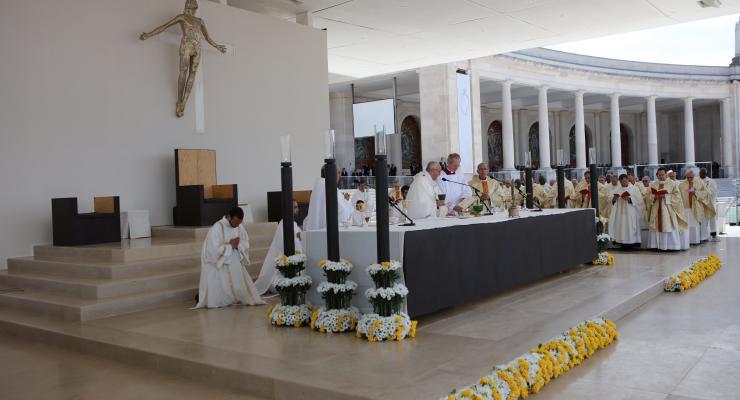Santuário de Fátima envia saudação ao Papa Francisco por ocasião do 50.º aniversário da ordenação presbiteral
