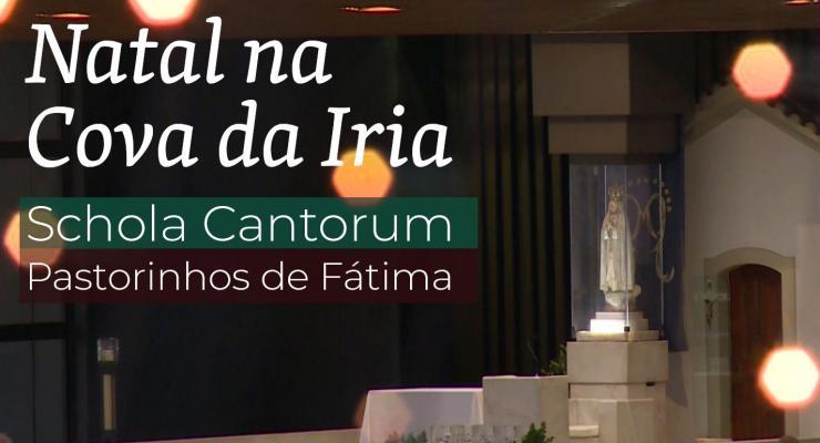 Coro infantil do Santuário de Fátima deseja boas festas em música de Natal