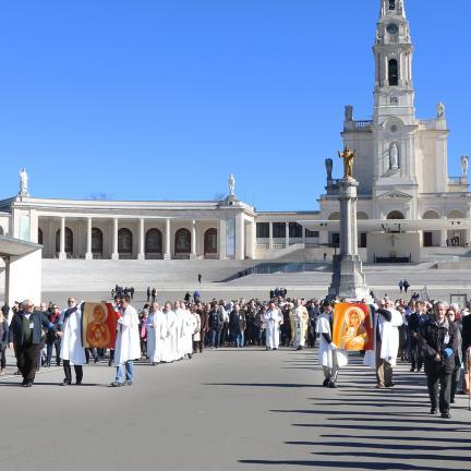 Le Sanctuaire de Fatima célèbre la fête Liturgique des Saints François et Jacinthe Marto