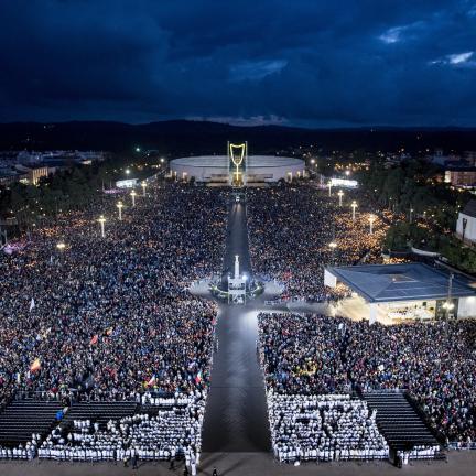 El número de peregrinos en el Santuario de Fátima en 2017 supera todas las expectativas