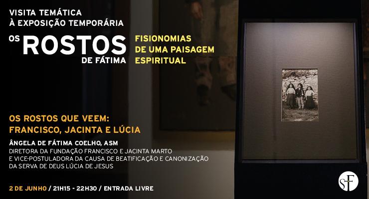 Irmã Ângela Coelho apresenta os três primeiros rostos de Fátima