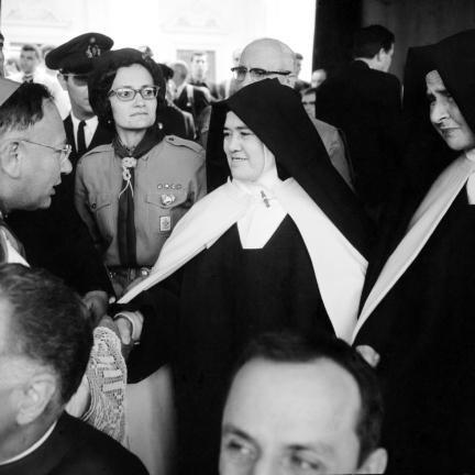 Irmã Lúcia em Fátima