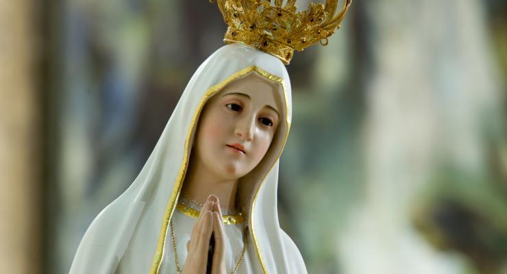 Escultura nº 1 da Virgem Peregrina de Fátima viaja para o Panamá no domingo