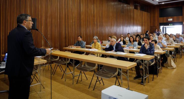 4.ª edição dos Cursos de Verão do Santuário de Fátima começou esta manhã no Centro Pastoral de Paulo VI
