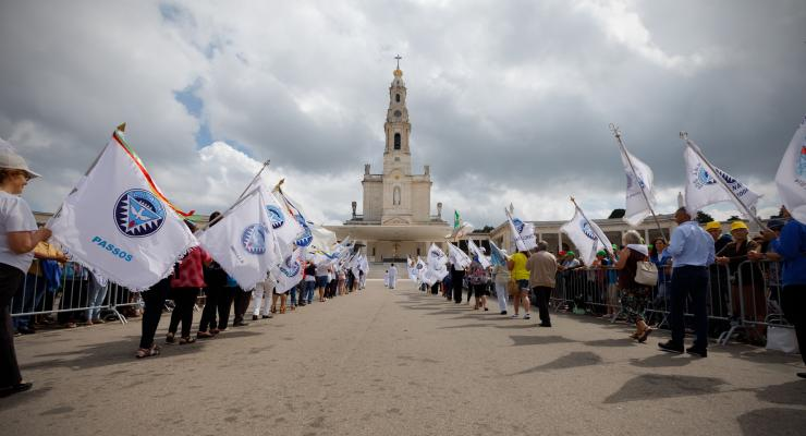 A Oração e a Paz marcam peregrinação de julho que celebra o triunfo do Imaculado Coração de Maria