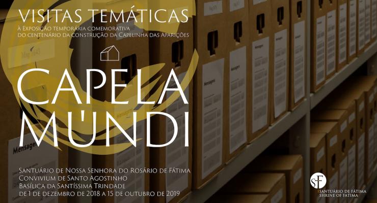 """O """"Correio de Nossa Senhora"""" é o tema da próxima visita temática à exposição temporária Capela Múndi"""