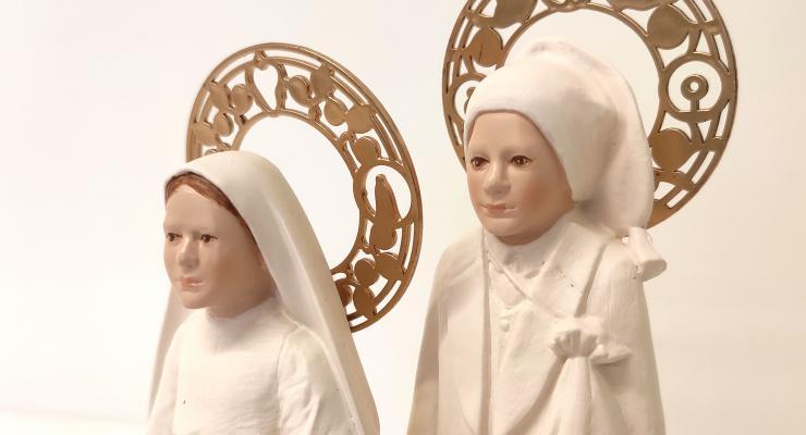 Santuário lança réplica da escultura de São Francisco Marto
