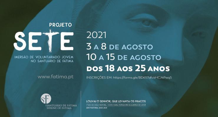 Projeto SETE vai proporcionar uma experiência de imersão de voluntariado com momentos de oração e serviço aos peregrinos