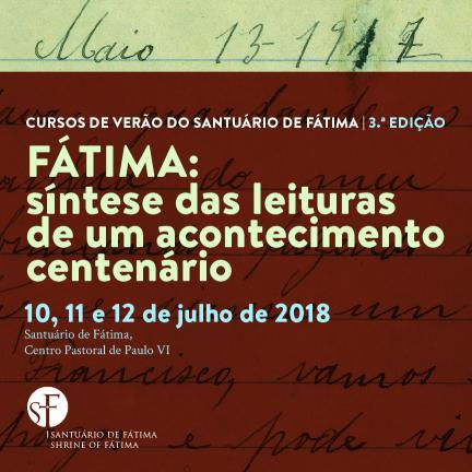 Santuário de Fátima dinamiza 3.ª edição dos Cursos de Verão