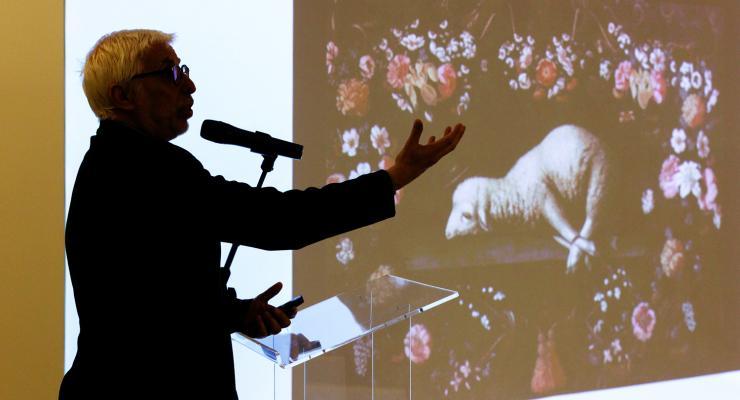 Agnus Dei, de Josefa d'Ayala, esteve em análise na segunda visita temática à exposição Capela-Múndi