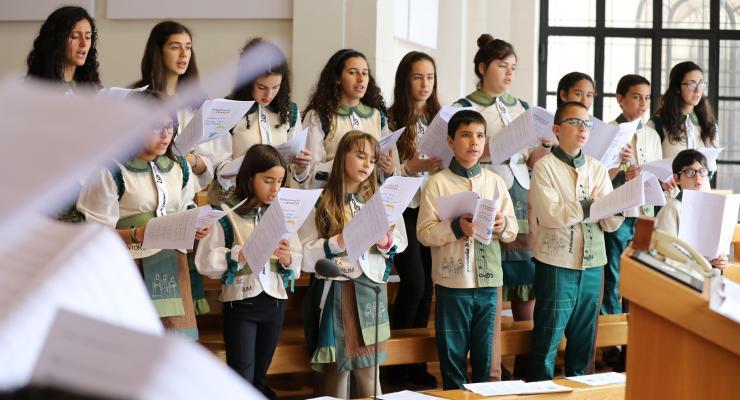 Schola Cantorum leva música de Fátima ao Alentejo