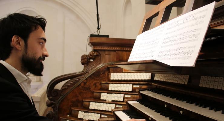 André Pires foi protagonista de recital de órgão na Basílica de Nossa Senhora do Rosário de Fátima