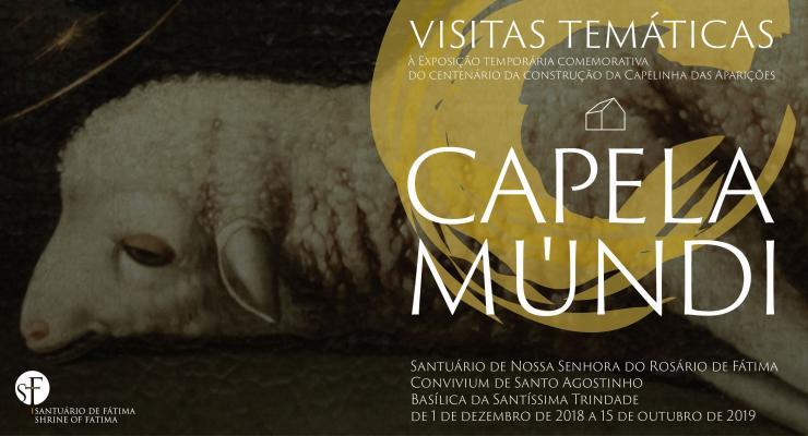 """Segunda visita temática à exposição Capela-Múndi vai falar de """"Imagens e histórias de devoção"""", a partir da obra """"Agnus Dei"""", de Josefa d'Ayala"""