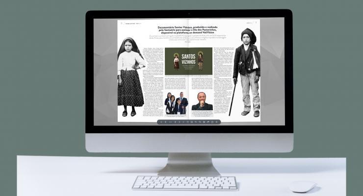 Primeira edição inteiramente digital do Boletim Fátima Luz e Paz já está disponível