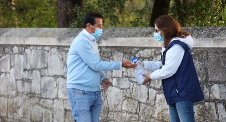 Voluntários do Santuário de Fátima dão um contributo importante para o acolhimento dos peregrinos