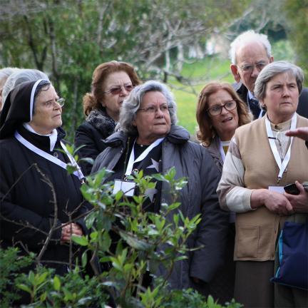 Rentner vertiefen die Botschaft von Fatima von ihrer eigenen Erfahrung her