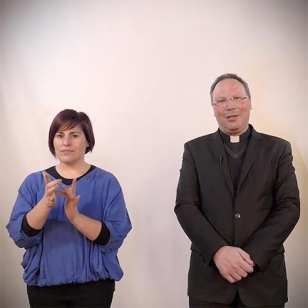 Celebrações do Tríduo Pascal do Santuário vão ser interpretadas em língua gestual portuguesa
