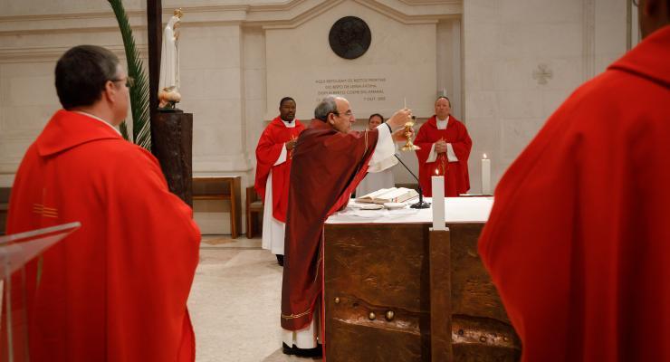 """O Cardeal D. António Marto considera que """"é hora de velarmos uns pelos outros, é hora da solidariedade"""""""