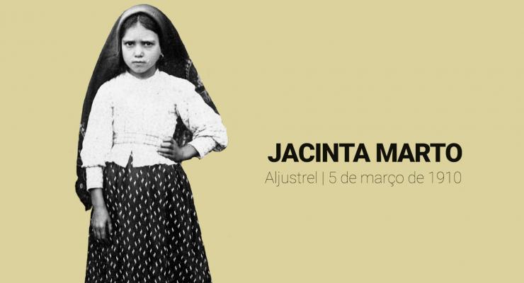 Santa Jacinta nasceu há 111 anos