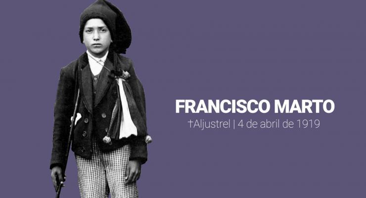 São Francisco Marto morreu há 102 anos