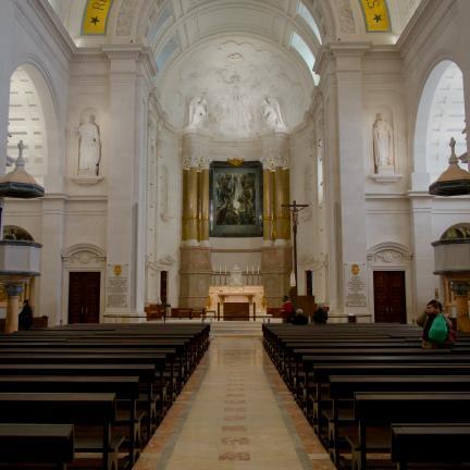 Santuário celebra Semana Santa sem peregrinos