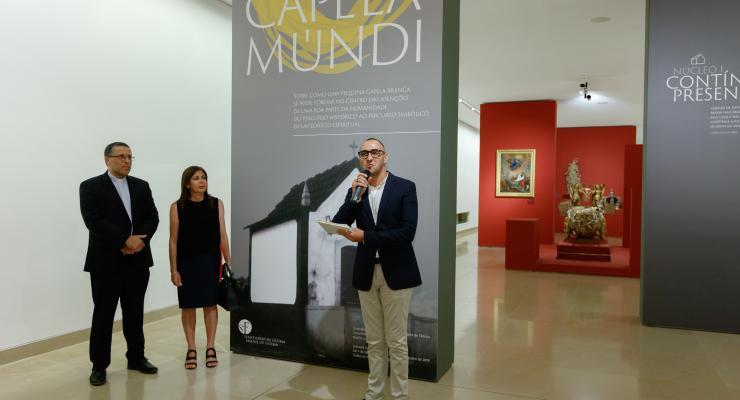 """Exposição temporária """"Capela-Múndi"""" bate recorde com mais de 250 mil visitantes em menos de um ano"""