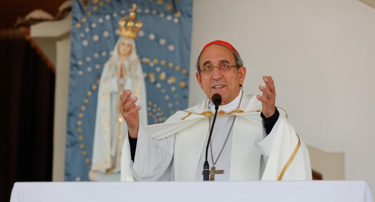 """""""Vós crianças sois as estrelas vivas de esperança; uma esperança que há brilhar para toda a humanidade"""", afirmou o cardeal D. António Marto"""