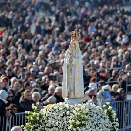 Cardeal D. António Marto convida peregrinos a terem a