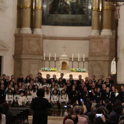 X Encontro de Coros Infantis atraiu centenas de peregrinos de Fátima