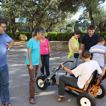 Férias inclusivas no Santuário de Fátima para pais e jovens portadores de deficiência