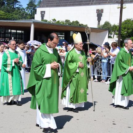 """Bispo de Lamego afirma que Jesus """"é a semente"""" que falta ao mundo"""