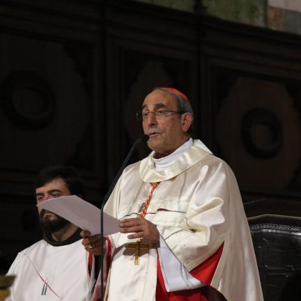 """O cardinalato """"não é uma promoção na carreira"""", afirma D. António Marto"""